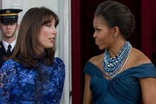 SamCam and Michelle Obama both feeling blue for White House state dinner