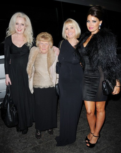 Debbie Bright, Nanny Pat, Carol Wright and Jessica Wright