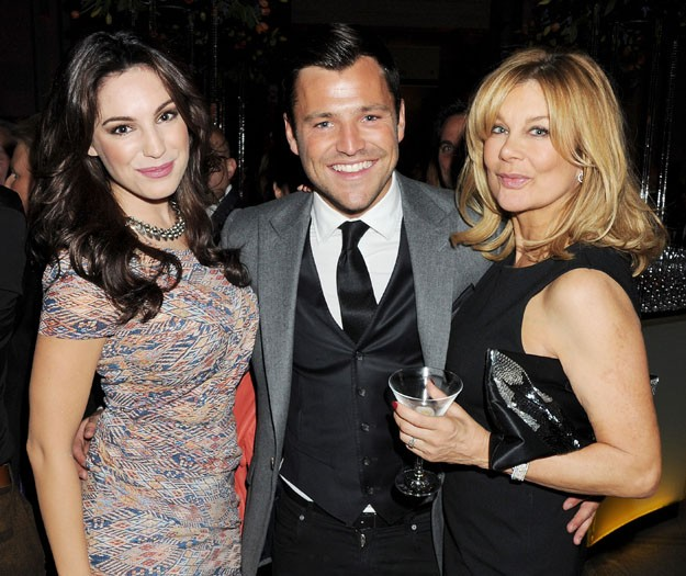 Kelly Brook, Mark Wright & Jilly Johnson