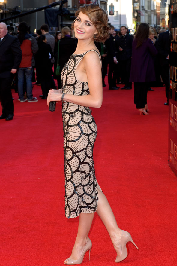 Kara Tointon brings jazz age glamour to the Olivier Awards