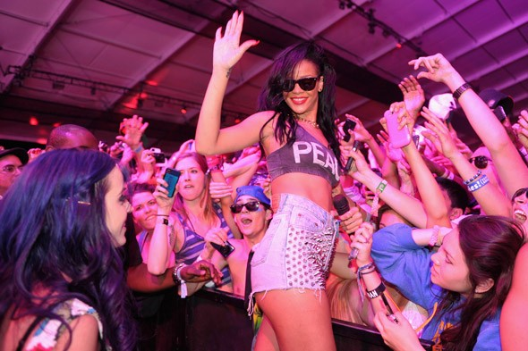 Womance: Bffs Rihanna and Katy Perry tear it up at Coachella