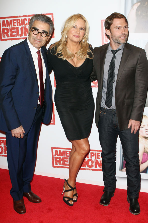 Tara Reid and co head to the American Pie: Reunion Premiere