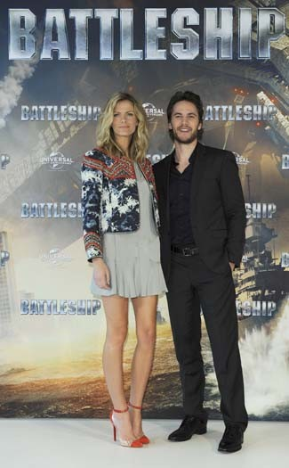 Brooklyn Decker &Taylor Kitsch in Hamburg