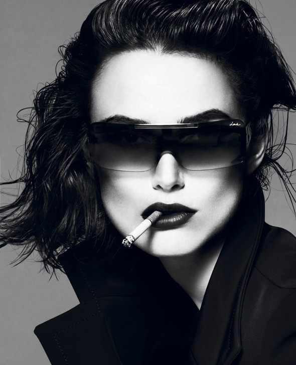 Hot or not: Keira Knightley's super-dramatic Interview cover