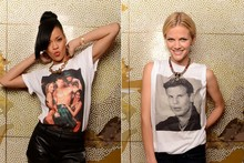 Rihanna's half-naked Battleship t-shirt tribute - cute or creepy?