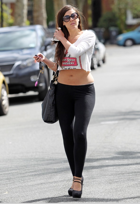 Leggings are not trousers: The Imogen Thomas edition