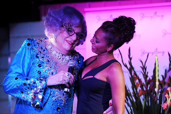 Dame Edna hangs out with Mel B, is a weight loss ambassador