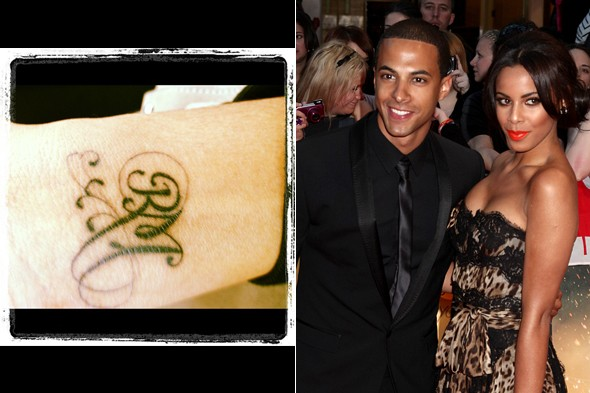 POLL: Rochelle Wiseman tweets new tattoo - tribute to love or to Royal Mail?