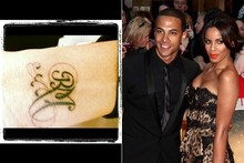 POLL: Rochelle Wiseman's new tattoo - tribute to fiance Marvin or to Royal Mail?