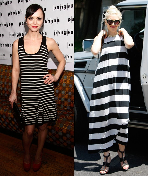 Stars in stripes: Christina Ricci vs. Gwen Stefani