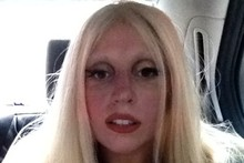 Lady Gaga's apres-exercise face - anything like yours?