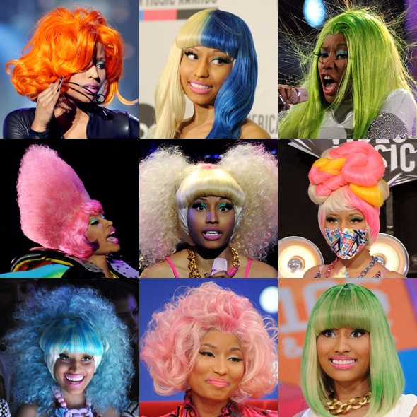 Wigged wonder: MyDaily salutes Nicki Minaj and her collection of hair