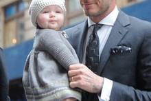 Say what? Harper Beckham gets fashionable job offer