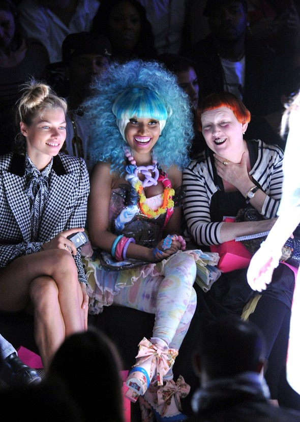 Front Row at Betsey Johnson SS2012, 2011