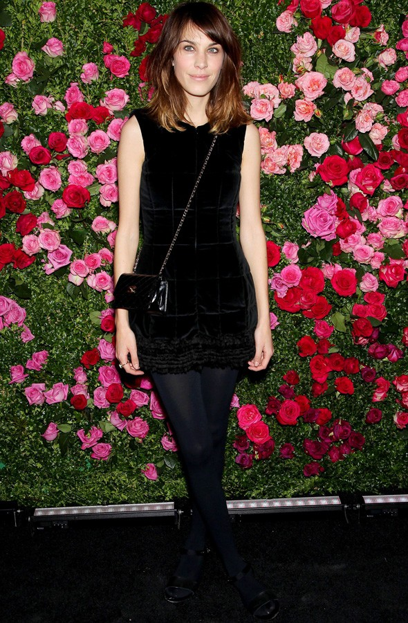 Alexa Chung leads the style set at Chanel Tribeca Film Festival dinner