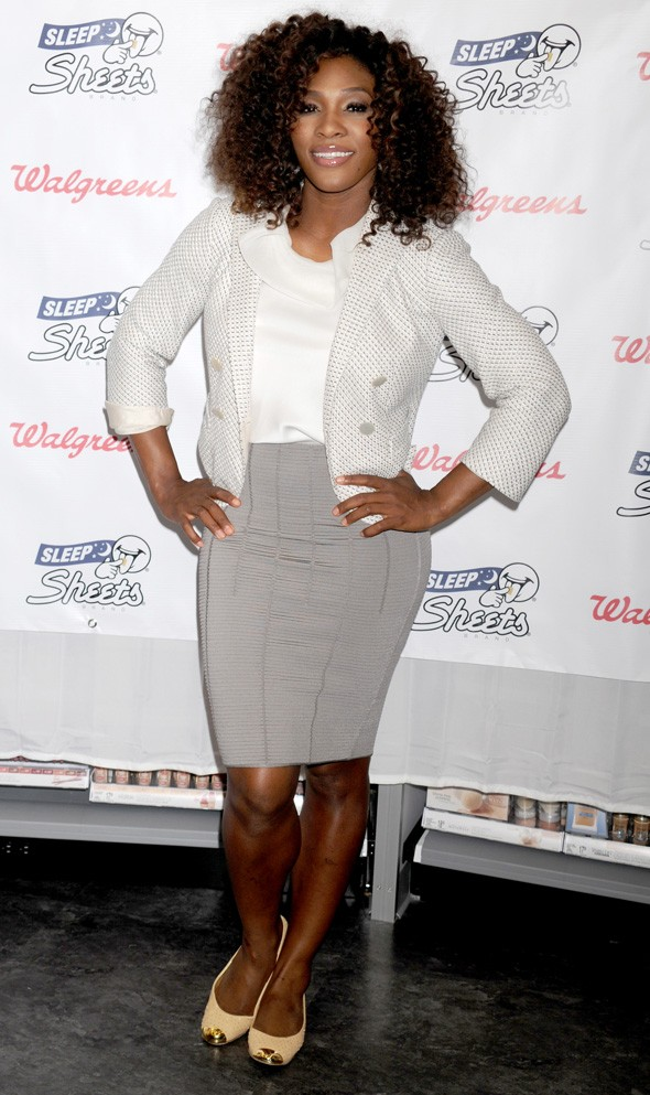 Serena Williams latest style shock