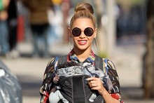 Beyonce and baby Blue Ivy bond in style