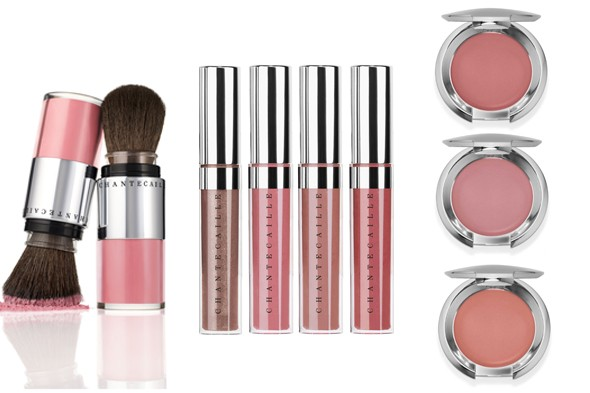 Chantecaille Powder, Gloss, Cheek Cream