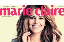 Cheryl Cole talks shoes, role models and Prince Harry in Marie Claire's May issue