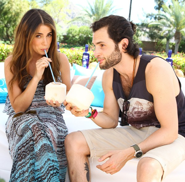 Nikki Reed and Penn Badgley