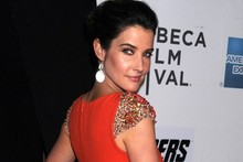 Citrus style: Cobie Smulders steals the limelight in tangerine at Tribeca
