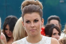 Day two at the races for Coleen Rooney, and this time she's gone monochrome
