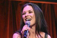 Hitting a high note: Catherine Zeta-Jones shimmers at school benefit