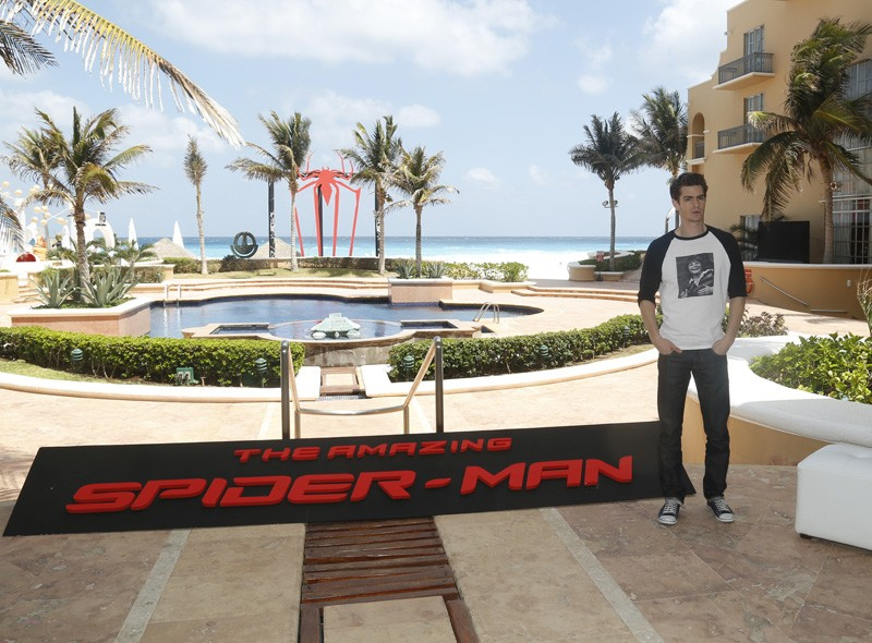Andrew Garfield in Mexico