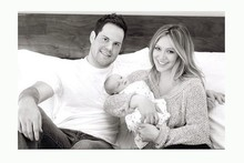 First look: Hilary Duff tweets photo of baby Luca