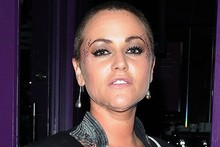 Jaime Winstone, where's all your hair gone?
