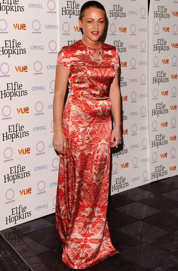 Jaime Winstone at the Elfie Hopkins premiere
