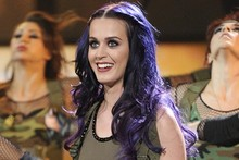 Attention! Katy Perry and her female army storm American Idol stage