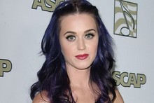 Katy Perry goes boho bridal for music awards, needs to shorten her straps
