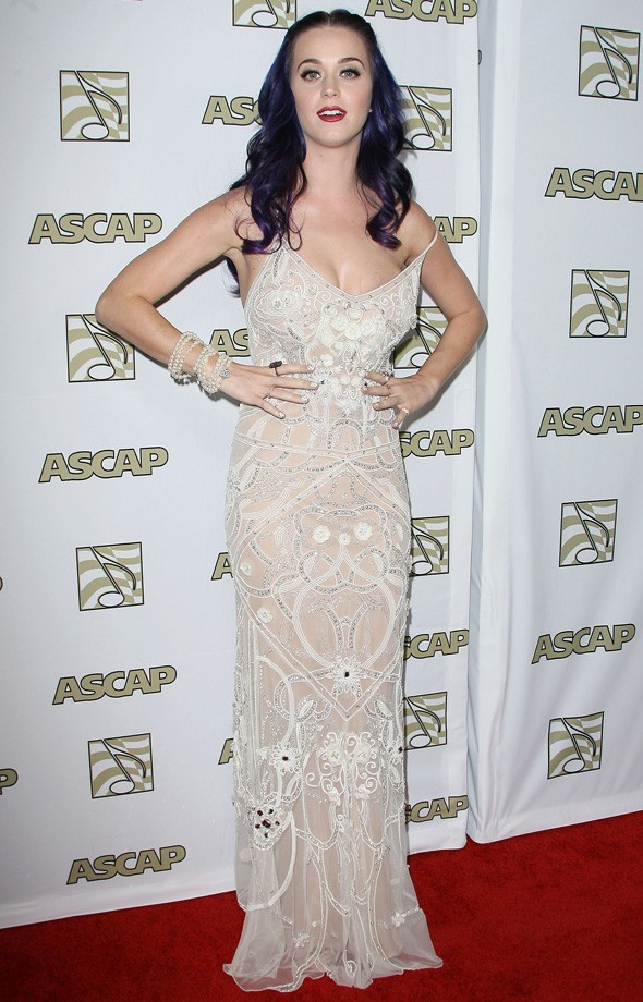 Katy Perry at the ASCAP music awards