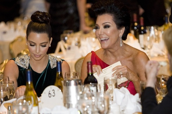 Kim and Kris lead the style pack at White House Correspondents' Dinner