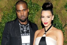 His 'n' hers: Kim and Kanye work matching monochrome at Chanel dinner