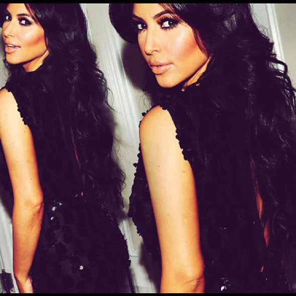 Kim Kardashian Twitter picture