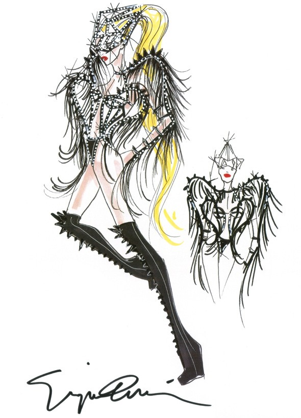 Lady Gaga to wear Giorgio Armani during her Born This Way world tour