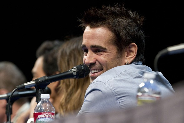 Colin Farrel at Comic Con