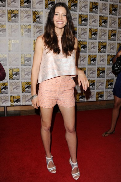 Jessica Biel at Comic Con