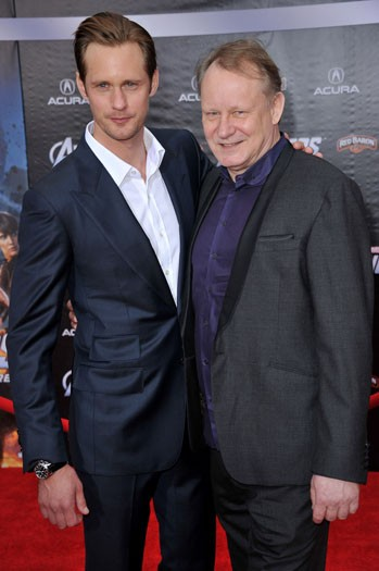 Stellan (right) and Alexander Skarsgard