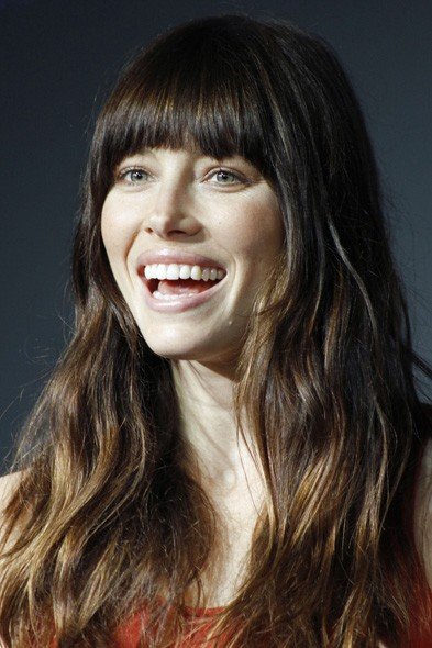 Jessica Biel at the Mexico photo call
