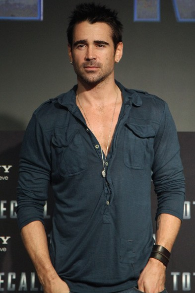 Colin Farrell at the Mexico photo call