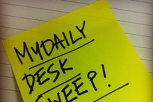 WIN: MyDaily Desk Sweep