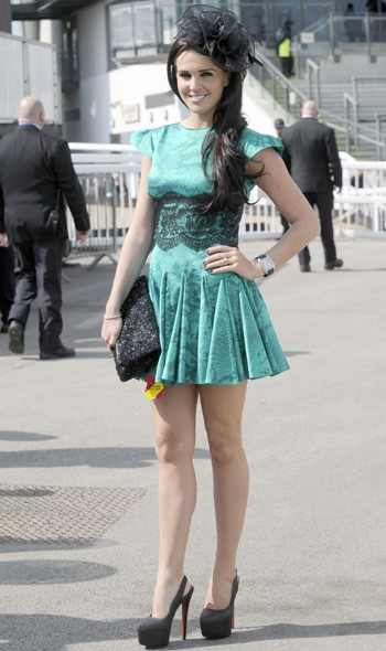 Danielle Lloyd at Aintree, day two