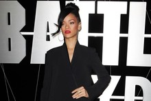 Rihanna rocks a Stella McCartney jumpsuit on the red carpet in Sydney