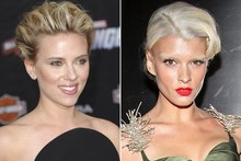 Beauty look of the week: Scarlett Johansson vs Crystal Renn
