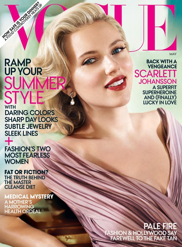 Scarlett Johansson Vogue cover