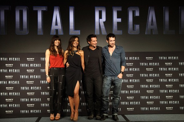 Total Recall photo call in Cancun, Mexico