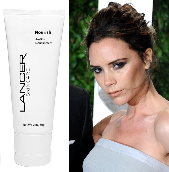 Victoria Beckham loves Lancer Dermatology Nourish moisturiser